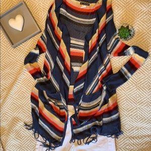 Billabong fringes long cardigan
